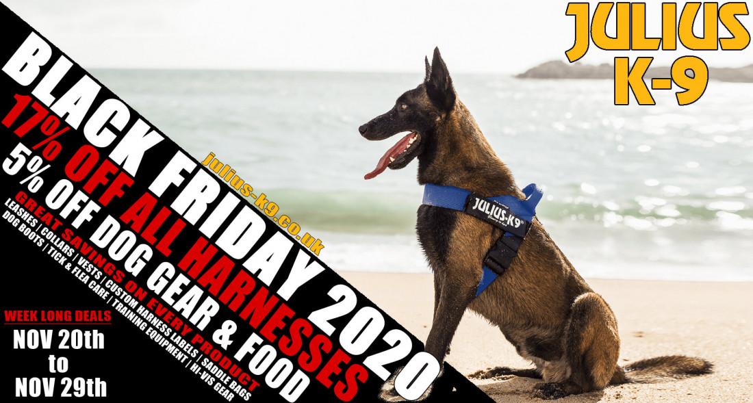 Black Friday Week Long Deals – 17% Off All Dog Harnesses