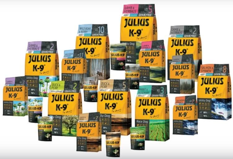 The New JULIUS-K9® Dry Dog Food Range