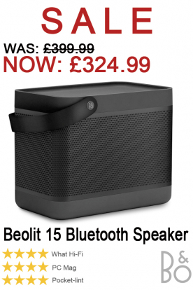Beolit 15 Bluetooth Speaker Now on Sale!