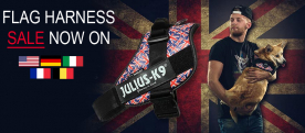 Sale now on IDC Flag Harnesses