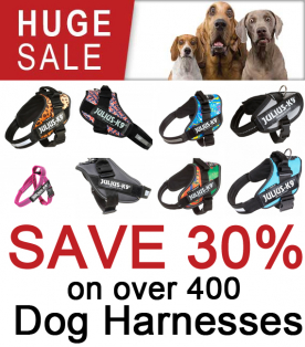 Now Save 30% on All Dog Harnesses