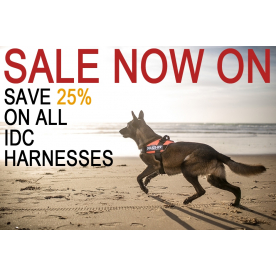 25% Off All IDC Dog Harnesses
