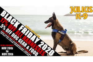 promo banner image for Julius K9 black friday 2020
