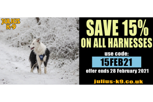 Julius K9 promo code Feb 21