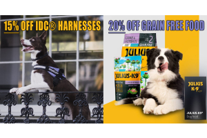 jk9 summer sale on dog food and harnesses