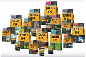 julius k9 dry dog food range