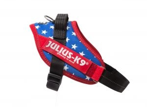 usa flag IDC dog harness