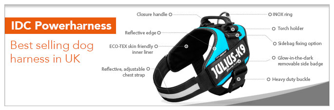 IDC Harnesses for Dogs and Puppies - Julius K9 UK