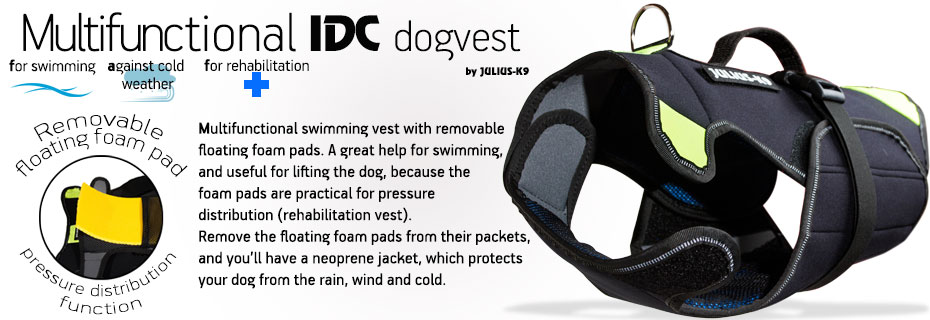 Multifunctional Dog Vest Amp Swimming Aids Julius K9 Uk