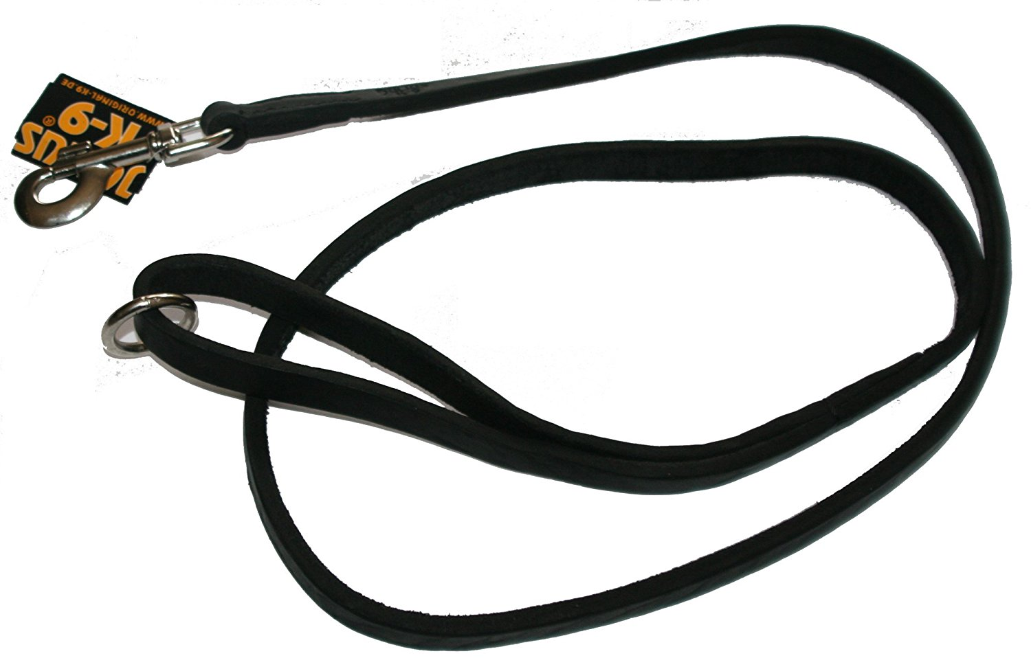leather leash 1 5 m   u00d8 16 mm  with handle  with o