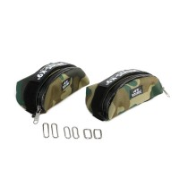 IDC Universal Saddle Bag - Size Mini to 4 - Camouflage