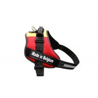 Belgian Flag Dog Harness - Extra Large (size 4)