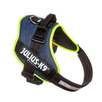 IDC Powerharness - Size 3 - Denim (Neon Trim)