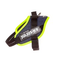 IDC Powerharness - Size Mini - Denim (Neon Trim)