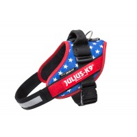 American Flag Dog Harness - Small Dog (size 0)