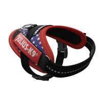 American Flag Dog Harness - Small Puppy (baby 1)