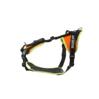 Mantrailing Dog Harness - UV Organge - Medium