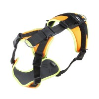 Mantrailing Dog Harness - UV Orange - Large & X Large