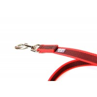 K9 Super Grip Dog Leash - Red - 5 m - No Handle