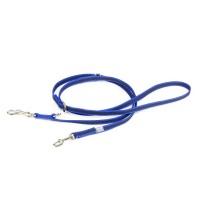 Blue K9 Super Grip Double Dog Lead - 2.2m - Narrow