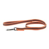 K9 Super Grip Thick Dog Leash - Orange - 1 m - With Handle
