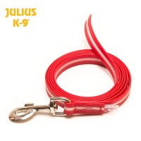 IDC Lumino Fluorescent Dog Lead (Without Handle) - Red