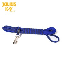 K9® Super-grip leash BLUE with handle