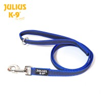 Color & Gray - K9 Super-Grip Leash - With O ring - Blue-Gray