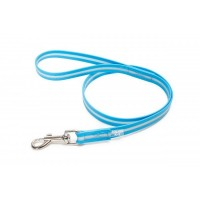 1.2m Aquamarine Lumino Fluorescent Dog Lead (With Handle)
