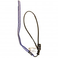 Blue Cord Contact Leash With 2 x Stops