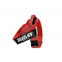 Color & Gray series IDC®-Belt harness red size 1