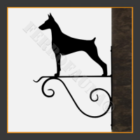 Dobermann Hanging Basket Bracket