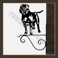 Dogue de Bordeaux Hanging Basket Bracket