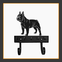 French Bulldog Key and Lead Holder