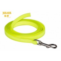 10m Green Lumino Fluorescent Dog Lead (With Handle)
