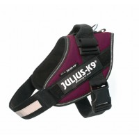 Dog Powerharness Size 1 Burgundy