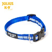 IDC tubular webbing collar, BLUE