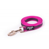 K9 Super Grip Thick Dog Leash - Pink - 1.2 m  (With Handle)