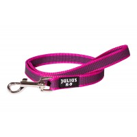 K9 Super Grip Thick Dog Leash - Pink - 1 m (With Handle)