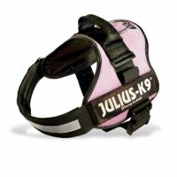 Julius-K9 Pink Collar Powerharness