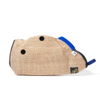 Puppy-sleeve with forearm protector - jute