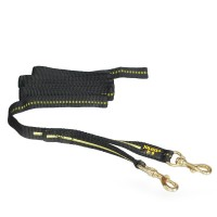 Safety Y-leash / two coppel carbines, without handle