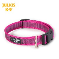 Large (25mm) Color & Gray® Dog Collar - Pink