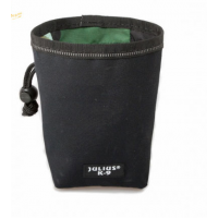 draw string black treat bag