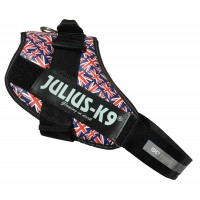UNION JACK (British Flag) harness - Size 4