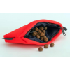 dummy aqua food with zipper and red