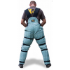 civil protection trousers back side view