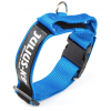 Julius-K9 Dog Collar with closable handle - Blue