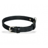 black riveted leather collar