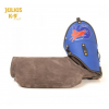 Leather Sleeve K9 - LEFT - Soft, BLUE